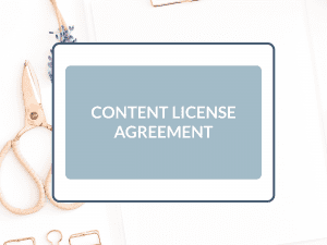 Purchase Content Copyright License Agreement