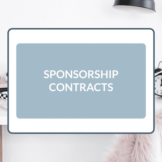 Sponsorship Contracts