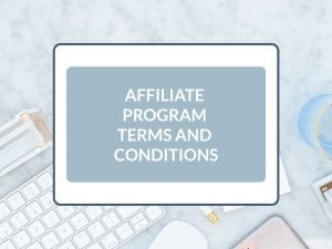 Purchase Affiliate Program Terms and Conditions