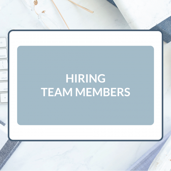 Customizable Legal Templates to Use When Hiring Team Members