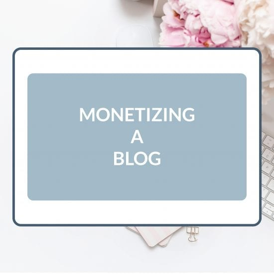 Customizable Templates to Use When You Are Monetizing a Blog